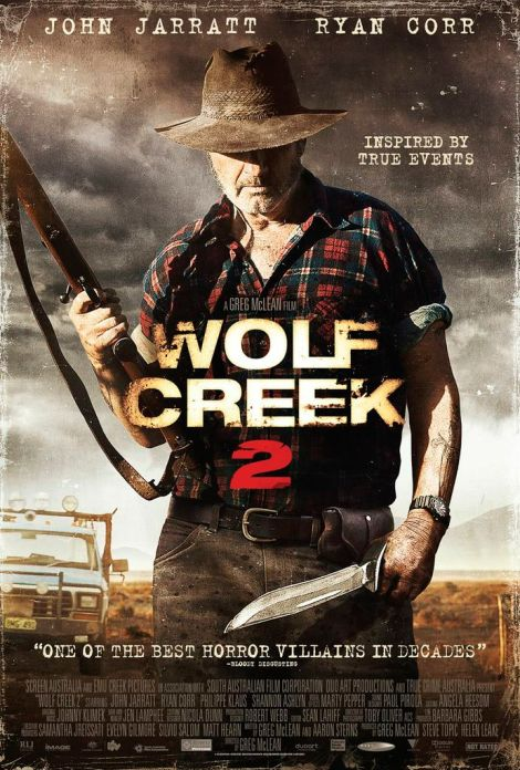 wolf creek 2 movie poster