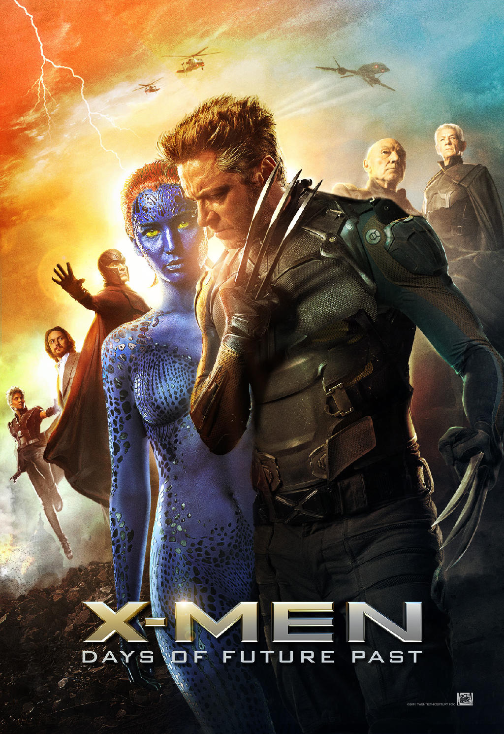 XMen Days of Future Past 2014 REVIEW The Wolfman