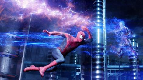 the amazing spider-man 2 electro fight scene