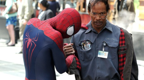 the amazing spider-man 2 max dillon jamie foxx electro