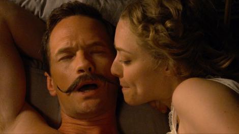 a million ways to di ein the west mustache