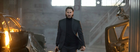 john wick movie keanu reeves turtleneck hair