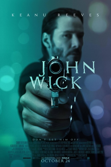 john wick movie poster large keanu reeves
