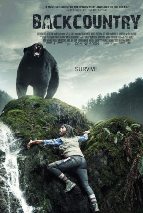 backcountry movie poster bear