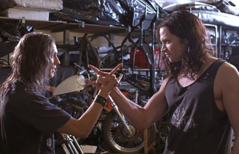 deathgasm movie james blake milo cawthorne handshake