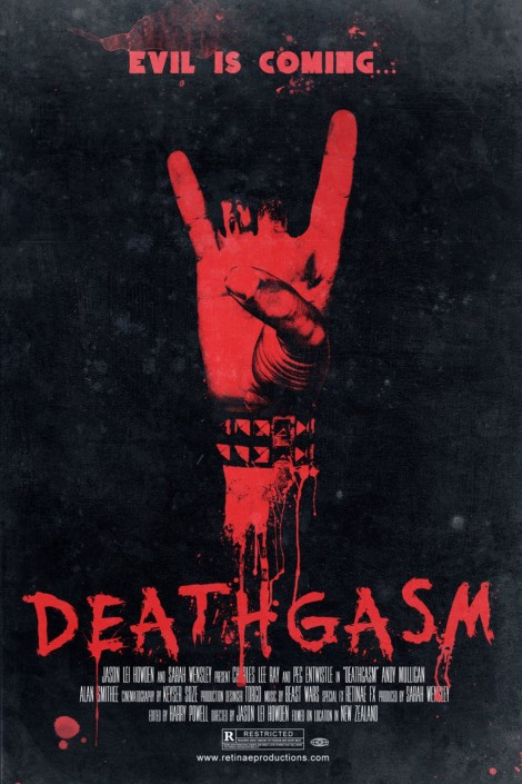 deathgasm movie poster satan metal large
