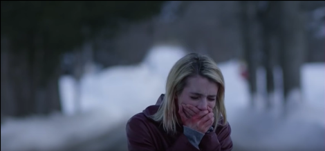 february movie 2015 emma roberts screaming blood the black coat's daughter