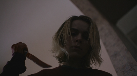 february movie kiernan shipka blood knife the black coat's daughter