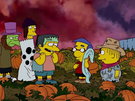 it's the grand pmupkin, milhouse simpsons treehouse of horror xix