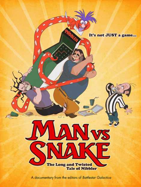 man vs snake the long and twisted tale of nibbler movie poster