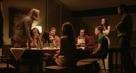 the invitation movie logan marshall-green dinner cult