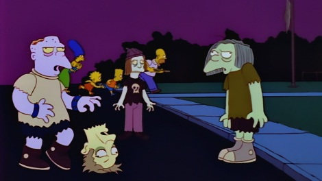 treehouse of horror iii z for zombies