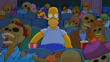 treehouse of horror viii simpsons homega man