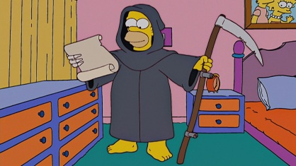 Image result for reaper madness simpsons