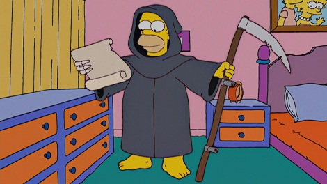 Treehouse of Horror XIV reaper madness the simpsons