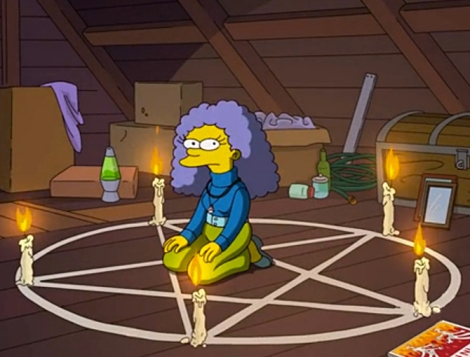 treehouse of horror xxiii unnormal activity simpsons